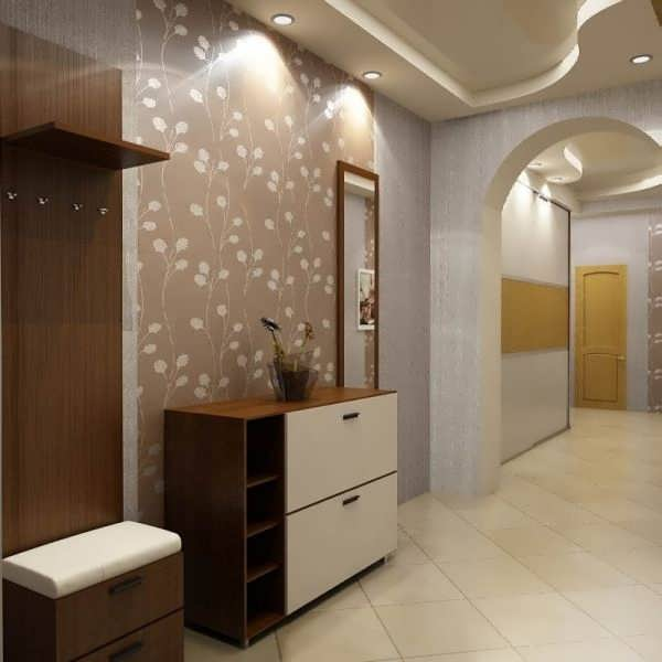 Современный дизайн комнаты в однокомнатной квартире