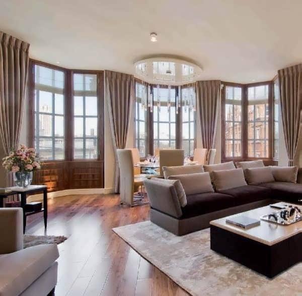 дизайн гостиная спальня в однокомнатной квартире фото