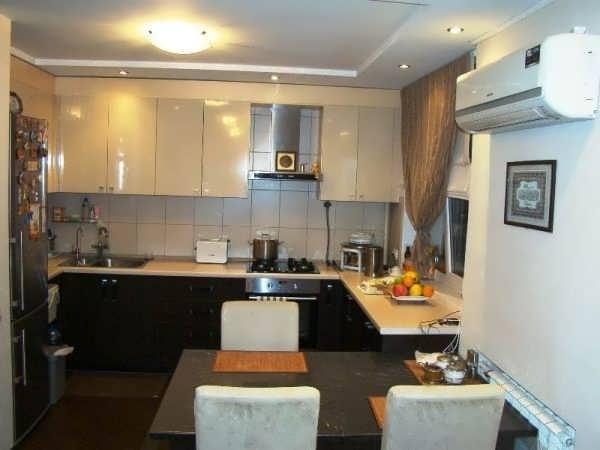 Квартирный дизайн - 1-комнатные квартиры - ниша в хрущевке.