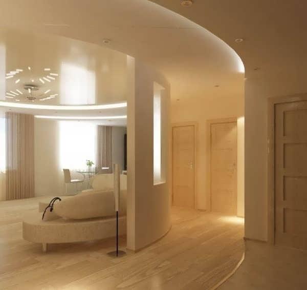 Комнатные квартиры интерьер зала в